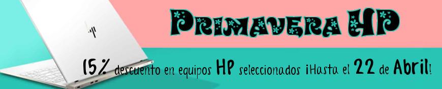 Promoción Especial - Primavera HP