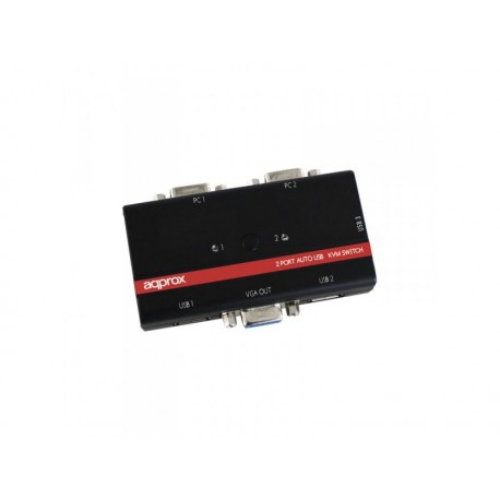 Approx Switch KVM 2 Puertos USB