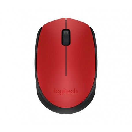 Logitech Wireless Mouse M171 Rojo