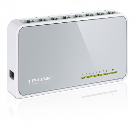 TP-LINK TL-SF1008D Switch 8 puertos 10/100