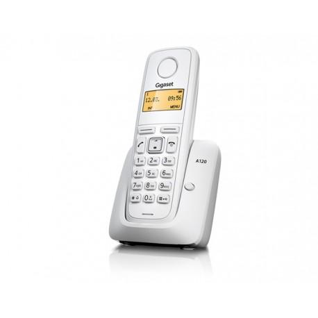 Siemens Gigaset A120 Teléfono Inalámbrico Blanco