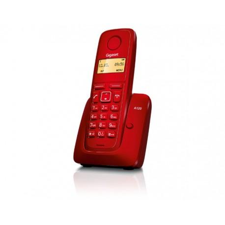 Siemens Gigaset A120 Teléfono Inalámbrico Rojo