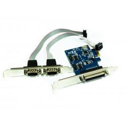 Approx Tarjeta PCI-E Parallel/Serial