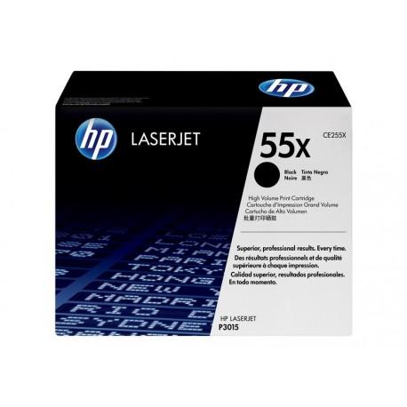HP CE255X Nº55X Negro