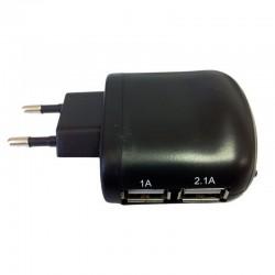 CoolBox UX-2 Cargador de RED USB