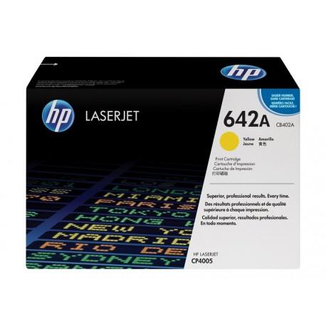 HP CB402A Nº642A Amarillo