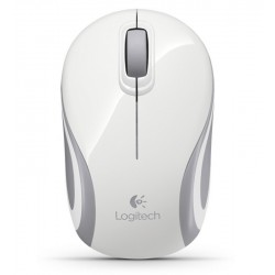 Logitech Wireless Mini Mouse M187 Blanco