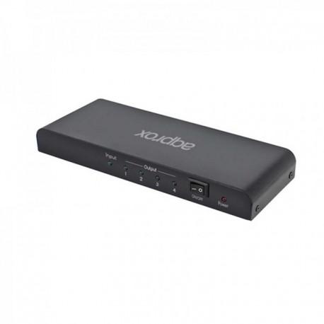 Approx Splitter HDMI 4 Puertos 1080P