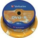 Verbatim DVD-R 16x 4.7GB Bobina 25 Unds