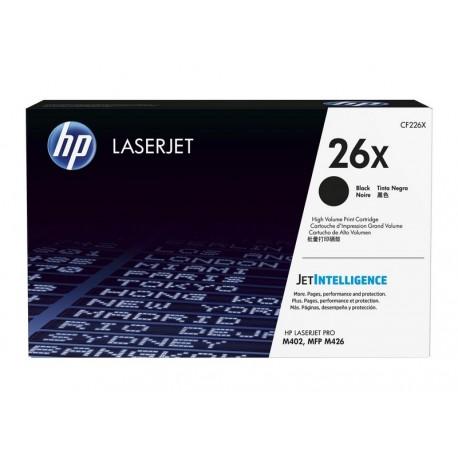 HP CF226X Nº26X Negro