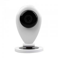 Leotec SmartHome Cámara IP de Videovigilancia WiFi HD de Visión Nocturna