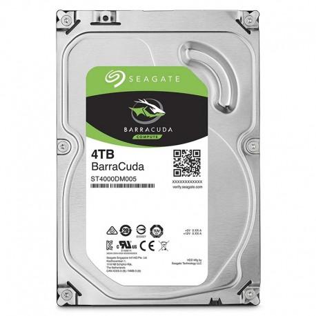 """Seagate BarraCuda 3.5"""" 4TB 7200 SATA3"""