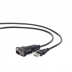 Cable Convertidor USB 2.0 a Puerto Serie DB9M 1.5m