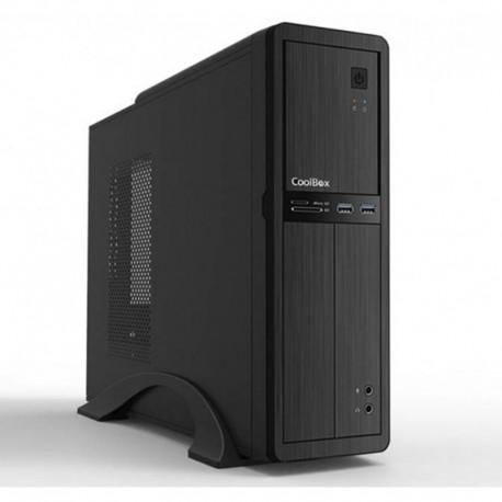 CoolBox T-300 Micro ATX USB 3.0 + Fuente 500W