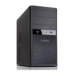 CoolBox Torre M55 Micro ATX USB 3.0 + Fuente 500W