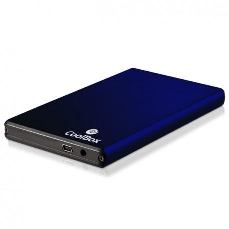 """CoolBox 2520 Carcasa HDD 2.5"""" SATA Azul"""