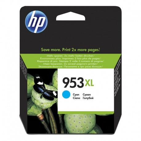HP F6U16AE Nº953 XL Cian