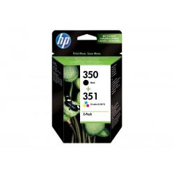 Pack Ahorro HP Nº350/351 Negro/Tricolor
