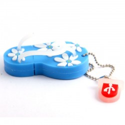 Pendrive Chancla Azul M.1355 16GB USB 2.0