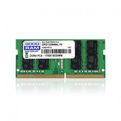 GoodRam DDR4 2133 PC4-17000 8GB CL15 SO-DIMM