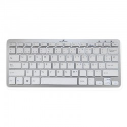 Bluestork Teclado Bluetooth Plata