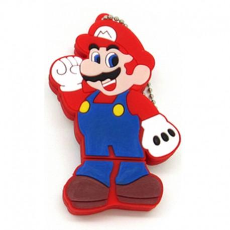 Pendrive Mario Bros X.595A 16GB USB 2.0