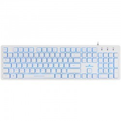 Bluestork KB Lumi Slim Blanco