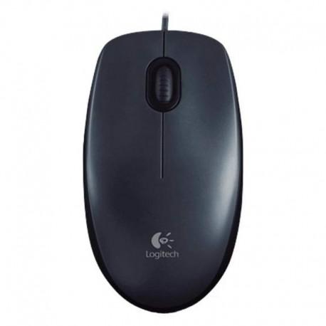 Logitech M100 USB Negro