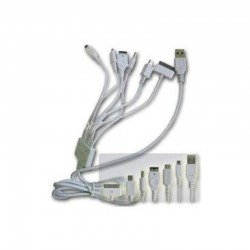 Cable de Carga y Datos USB Apple/PSP/DS