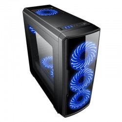 CoolBox DeepGaming DeepStorm Blue Edition ATX USB 3.0