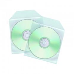 Sobre Plástico para CD Pack 100