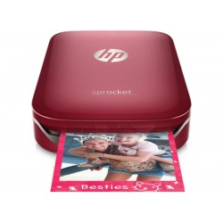 HP Sprocket Bluetooth Roja