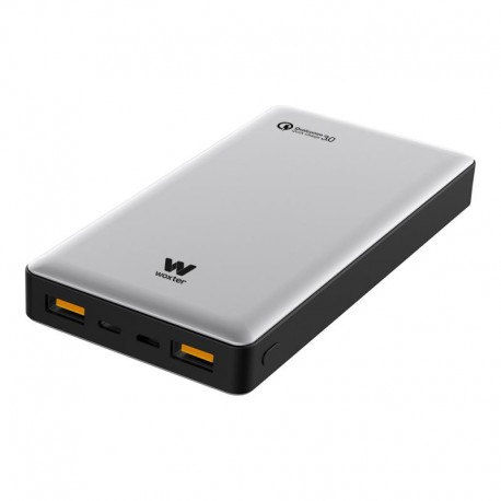 Woxter Power Bank QC 16000 Plata