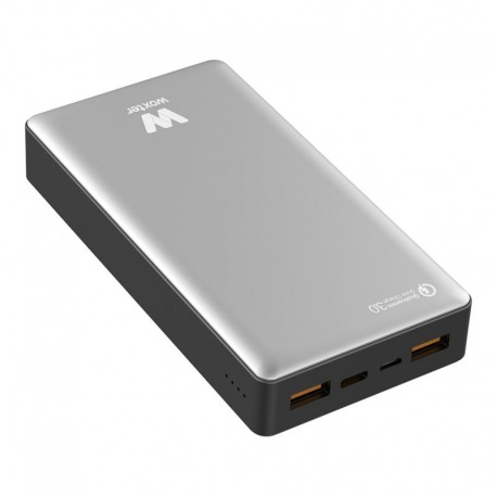 Woxter Power Bank QC 20500 Plata