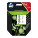 Pack Ahorro HP Nº950 XL Negro, Nº951 XL Cian/Magenta/Amarillo