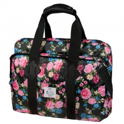 "E-Vitta Messenger Laptop Bag 16"" Roses"