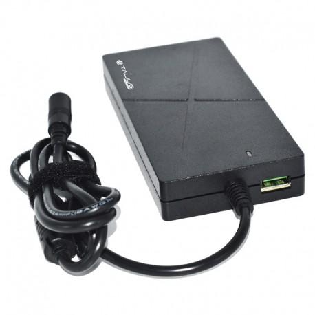Talius Transformador Universal PWA-4009 90W Slim Automático USB QC