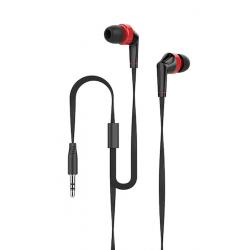 Talius Auriculares EA-1001 Red/Black