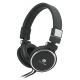 Talius Auriculares HPH-5001 con micrófono negro
