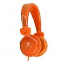 Talius Auriculares HPH-5002 con micrófono amarillo