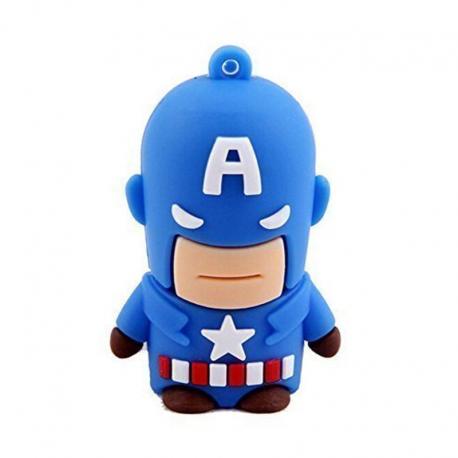 Pendrive Capitán América 4008 16GB USB 2.0
