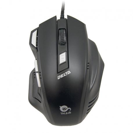 Talius Ratón Gaming Delta USB 4000DPI Negro