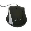 Talius Ratón MO-491-S USB Negro/Plata