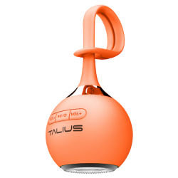 Talius Altavoz Drop Bluetooth Orange