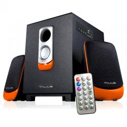 Talius Altavoces SPK-2101BT Bluetooth Negros/Naranjas