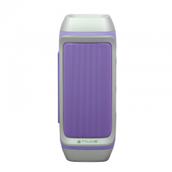 Talius 28BT Altavoz Bluetooth + PowerBank Morado