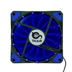Talius Ventilador Caja FAN-03 15 LEDs Azul