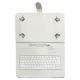 """Talius Funda Tablet CV-3006 Teclado 10"""" Blanca"""