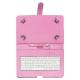 """Talius Funda Tablet CV-3006 Teclado 10"""" Rosa"""