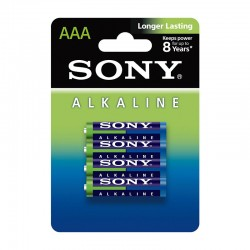 Sony AM4L-B4D Alkaline Blue AAA x4